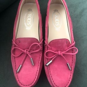 Tod's City Gommino Driver Moccasins Size 37